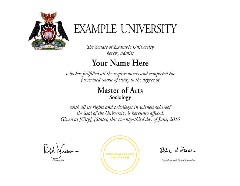 Degree Template. College Diploma Templates Fake College Diplomas ...