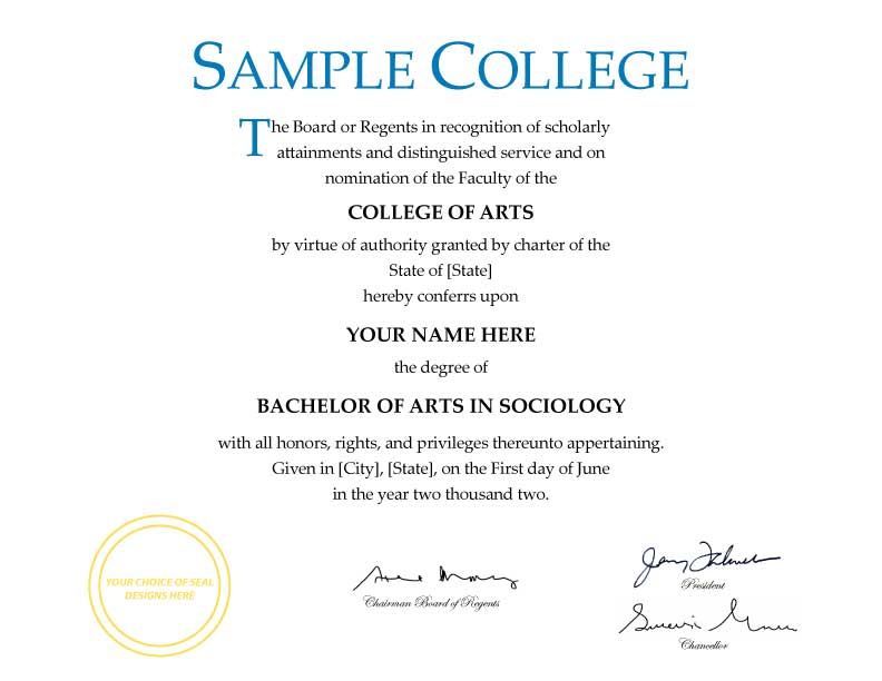 Pics for gt blank college diploma for College degree templates
