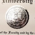 FAKE UNIVERSITY OF TEXAS DIPLOMA SEAL DESIGN // ES02