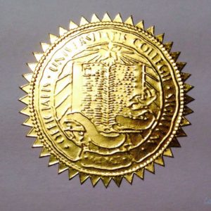 FAKE UCLA DIPLOMA SEAL DESIGN // ES02