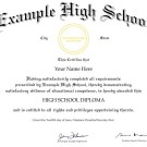 ontario high school diploma template ged diploma