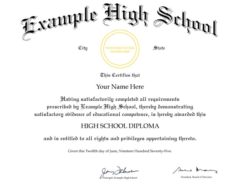 Fake high school diploma template tiredriveeasy fake high school diploma template yelopaper Images