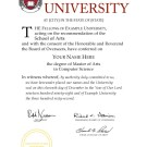 FAKE DIPLOMA TEMPLATE // D10 [Harvard Style 2]