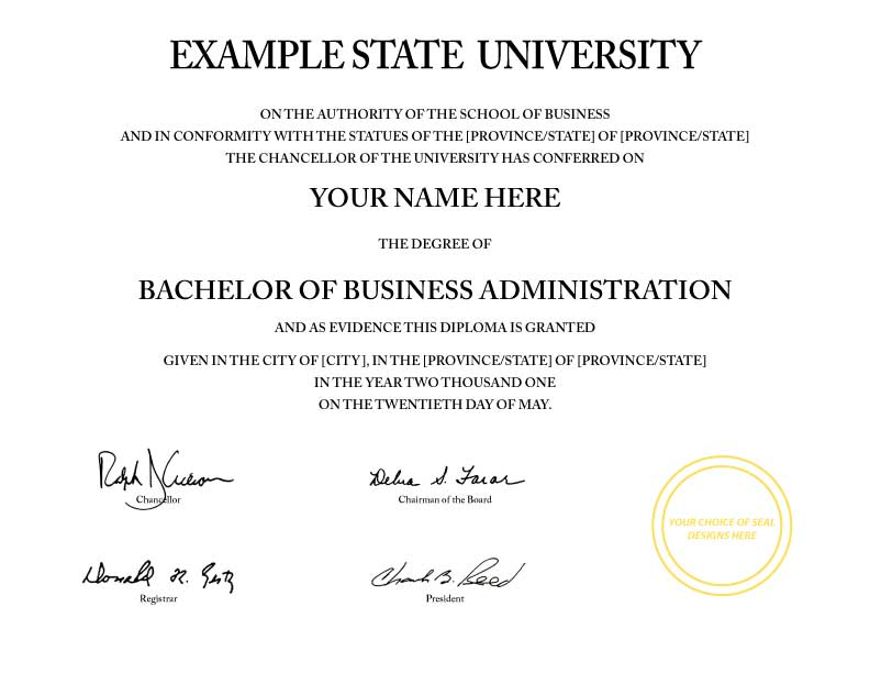 Pin fake college certificate business degree harvard for Fake university degrees templates