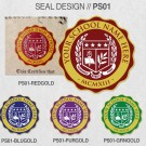 FAKE DEGREE SEAL DESIGNS PRINTED SEAL DESIGN // PS01