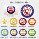 FAKE DEGREE SEAL DESIGNS // PS03