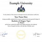 ATHABASCA UNIVERSITY FAKE DIPLOMA TEMPLATE // D32 [Athabasca University Replica]