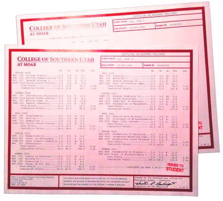 Fake College Transcripts 011 450x406 Fake Transcripts