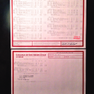 Fake University Transcript Samples | T01-RED/RED PAPER