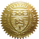FAKE DEGREE EMBOSSED SEAL // ES01-GOLD