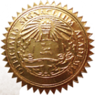FAKE DEGREE EMBOSSED SEAL // ES04-GOLD