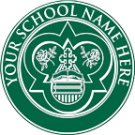 FAKE DIPLOMA SEAL DESIGN // PS04-GREEN