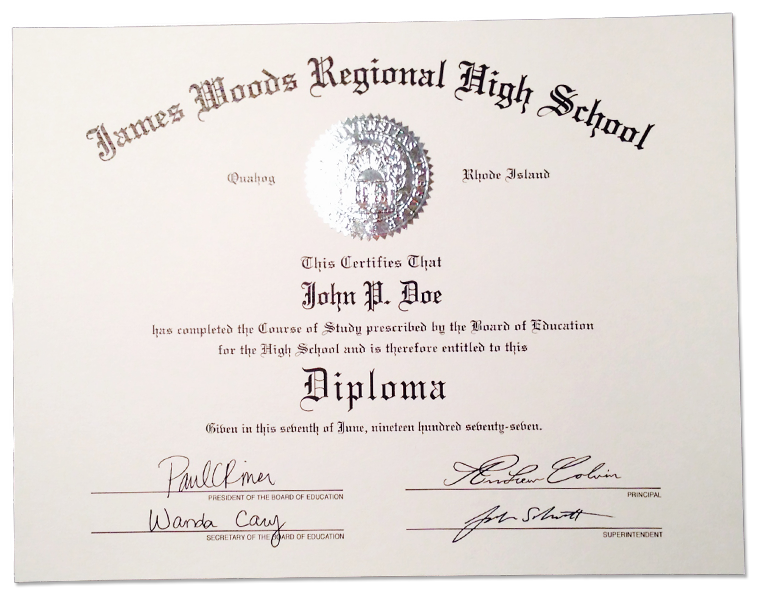 Buy a fake high school diploma transcripts online for Free high school diploma templates