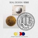 DIPLOMA SEAL DESIGN // ES02