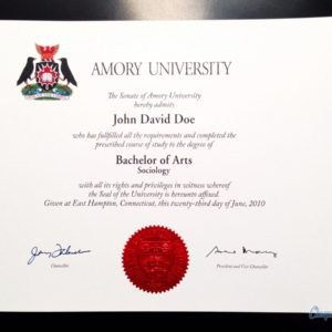 Fake Canadian University Diploma