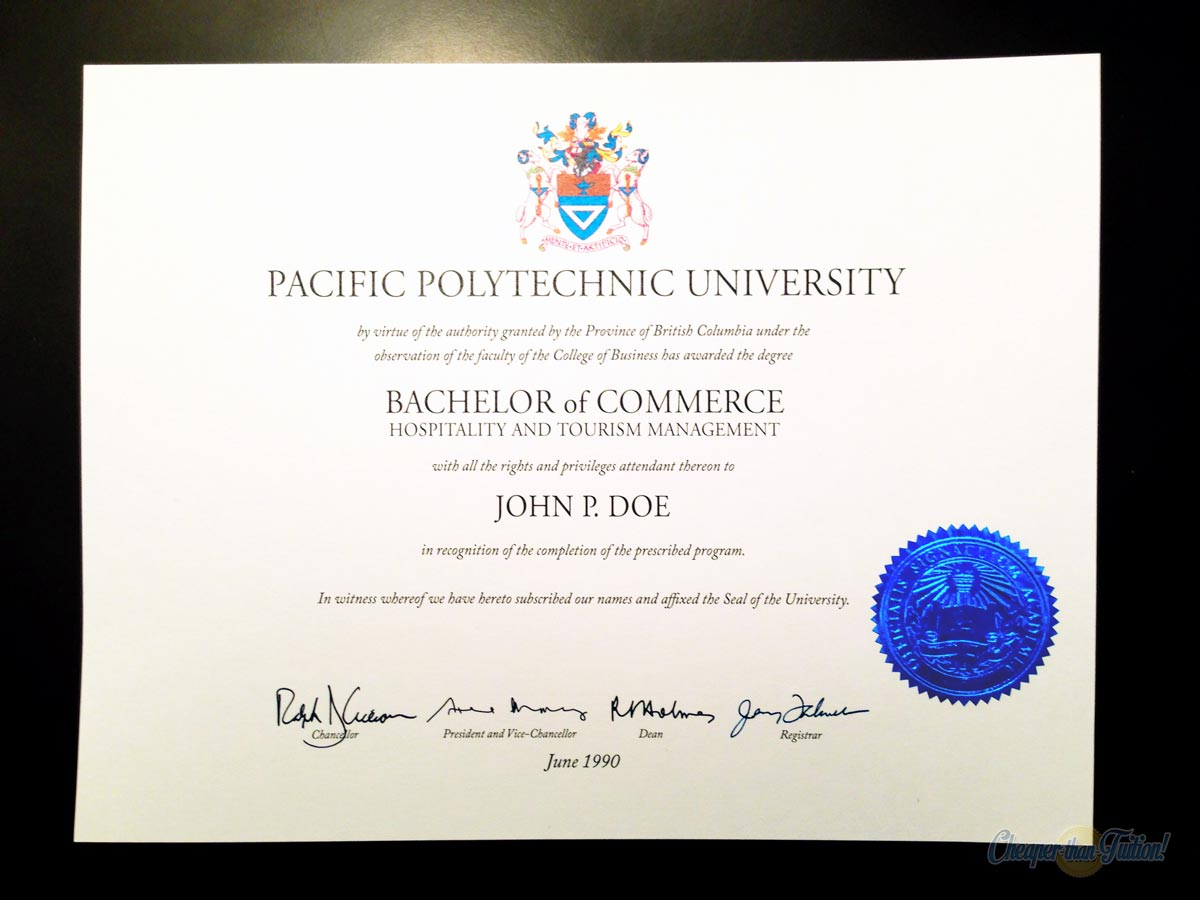 FAKE DIPLOMA PRODUCT SAMPLE | TEMPLATES - D26 & ES05-BLUE