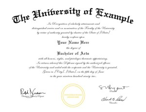 Fake Diploma Template Er Than Tuition Jpg 300x231 College Degree Certificate Templates