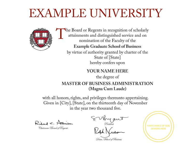 University Graduation Certificate Template Idealstalist