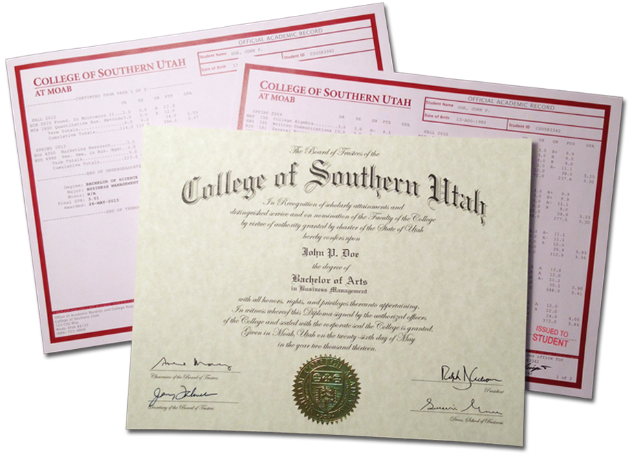 Authentic replica fake diploma and transcripts