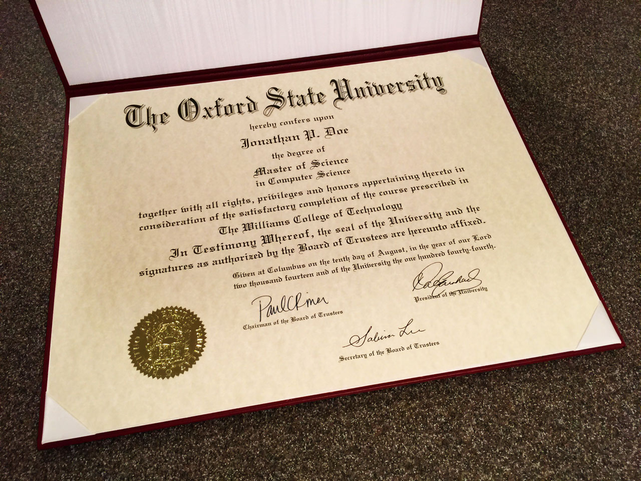 Fake diplomas certificates college university replicas fake diploma template d37 fake state university diploma sample yelopaper Gallery