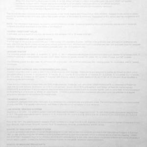 Fake University Transcript Key Printed on Back of Counterfeit Transcript