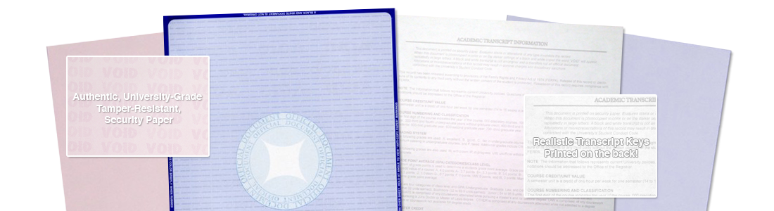 Fake Transcript Security Paper