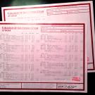 Fake University Transcript Sample   T01-RED/RED PAPER