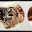 Fake Diploma Seal (ES05-SILVER)