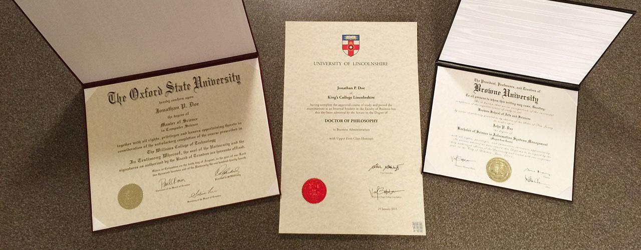 Diploma Sizes - 11x14 & 11x17