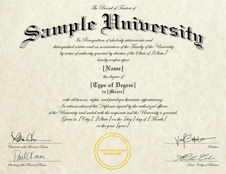 Fake Diploma Template // D 01 To Free College Diploma Template