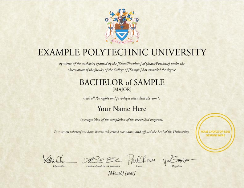 Buy a fake college diploma online fake diploma template d 26 yelopaper Images