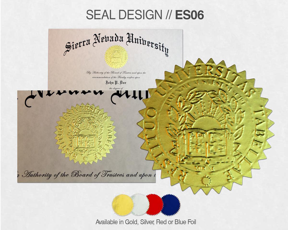 SEAL DESIGN // ES06